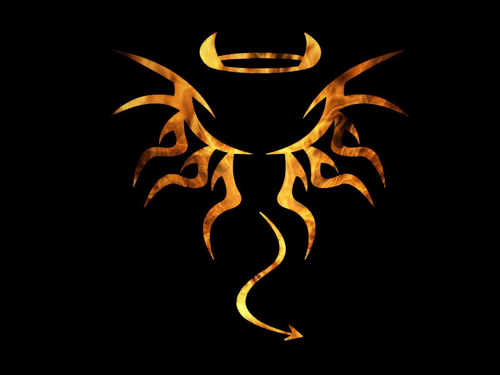 Tattoos Demon and Angel - a charm or a challenge to evil spirits