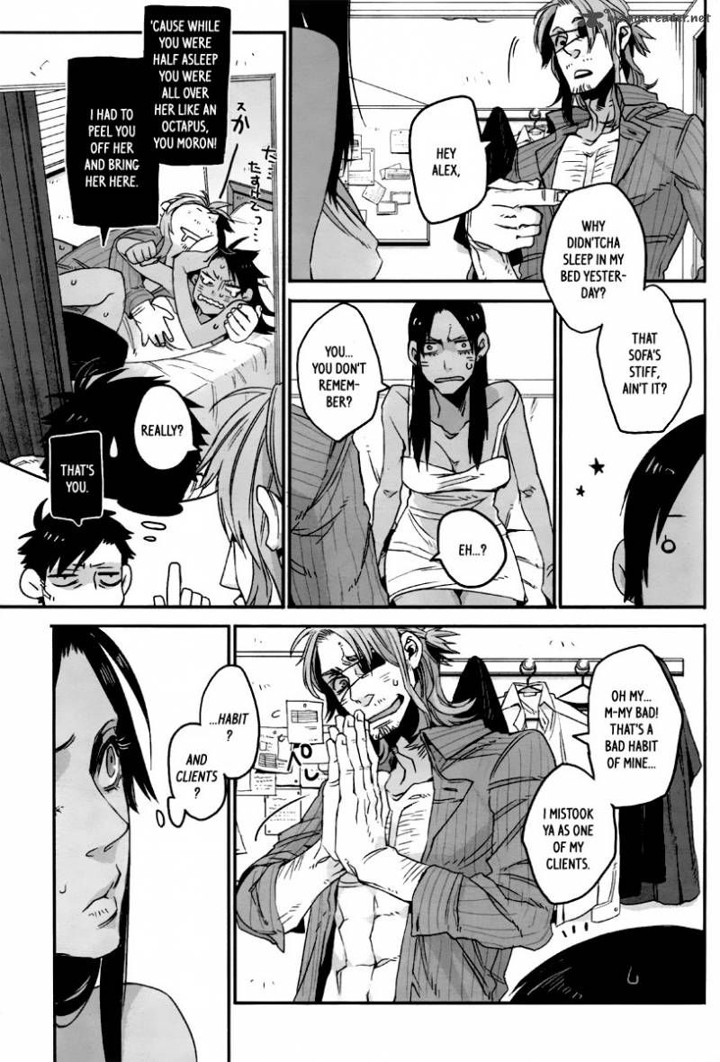 Gangsta manga i love this series translated reads