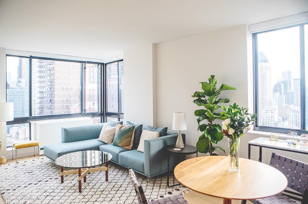 One Columbus Place—With 1, 2, and 3 bedroom apartments