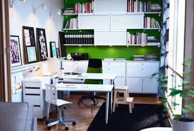 Disenos De Oficinas Ikea 2012 Diseno De Oficina En Casa Oficina