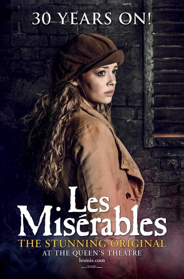 Image result for carrie hope fletcher les mis 30th anniversary