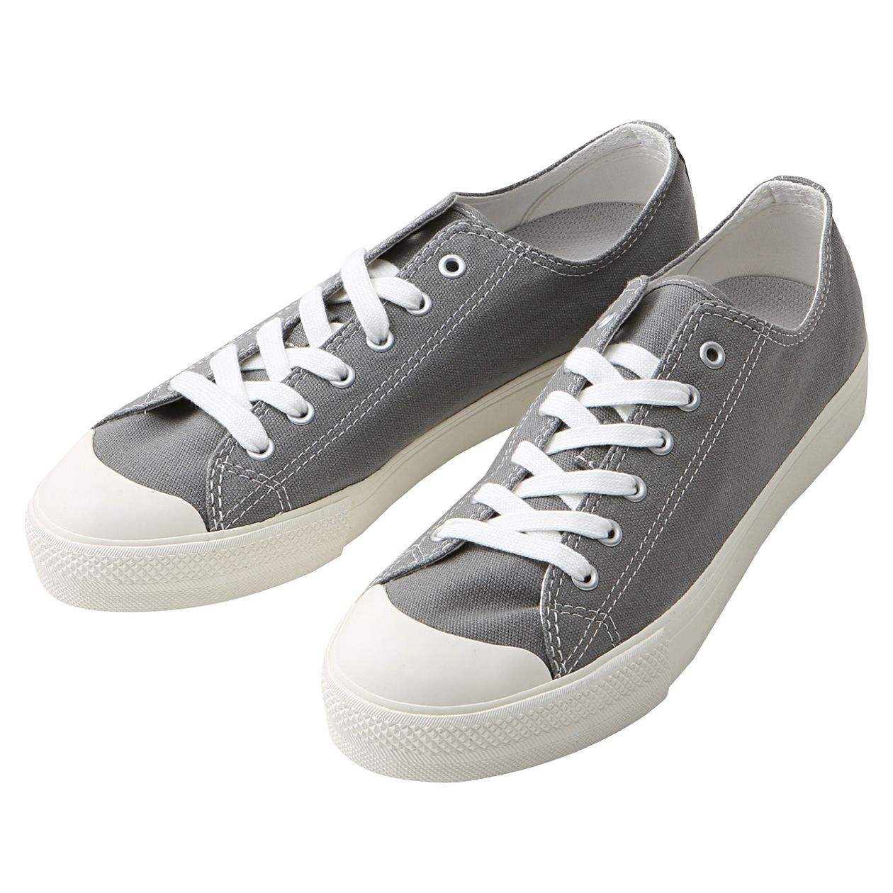 Water-repellent cotton sneakers (gray) by MUJI