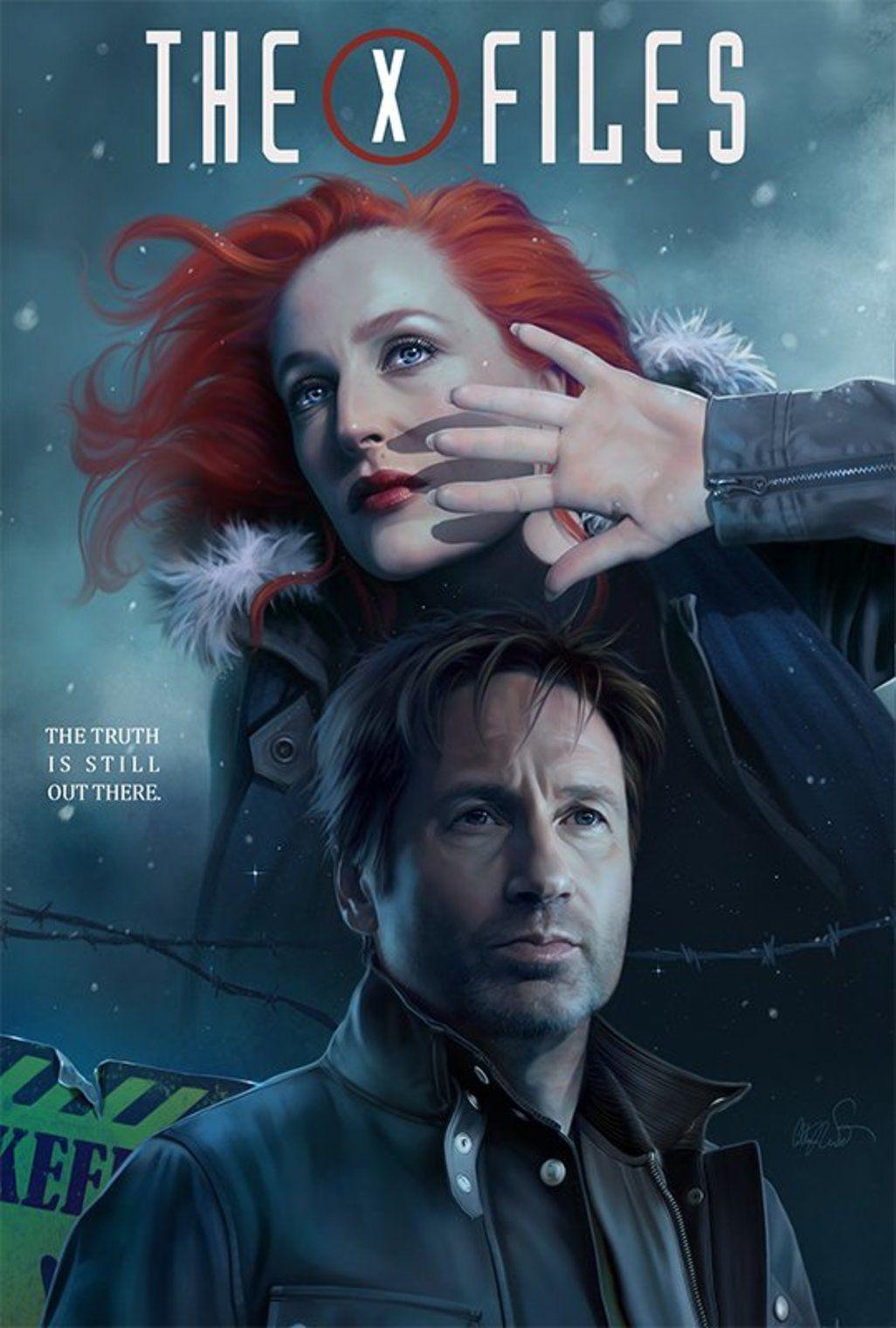 "cinexphile: ""The X-Files Season 11 fan art by Chimera """