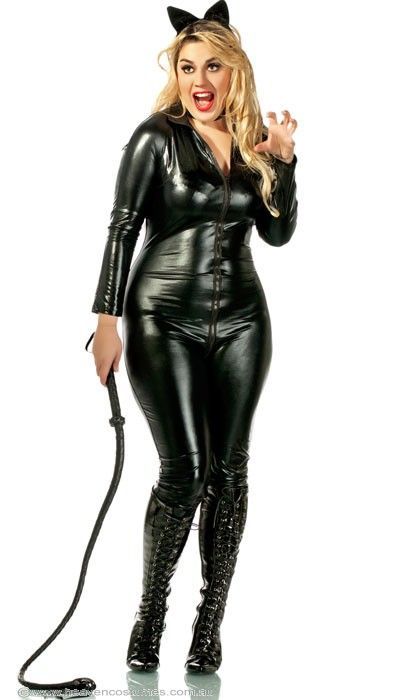 Feisty Catwoman Sexy Plus Size Costume Heaven Costumes Fancy
