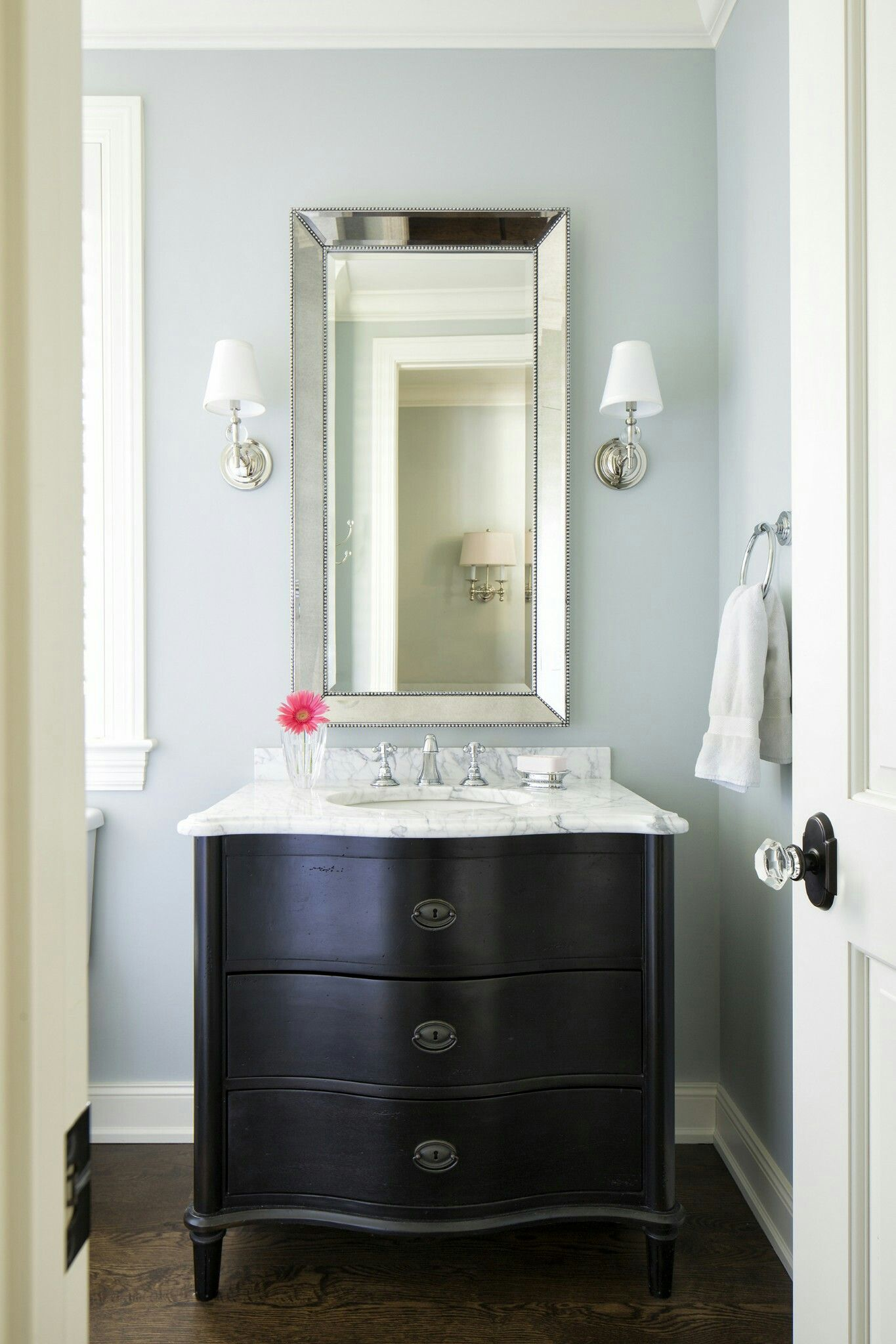 Pinrachel Lytton On Bathroom  Pinterest  Small Bathroom Inspiration Popular Paint Colors For Small Bathrooms Inspiration Design