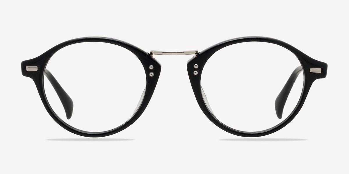 Shibuya Black Acetate Eyeglasses from EyeBuyDirect. Exceptional ...