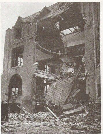 Liverpool university following May Blitz 1941