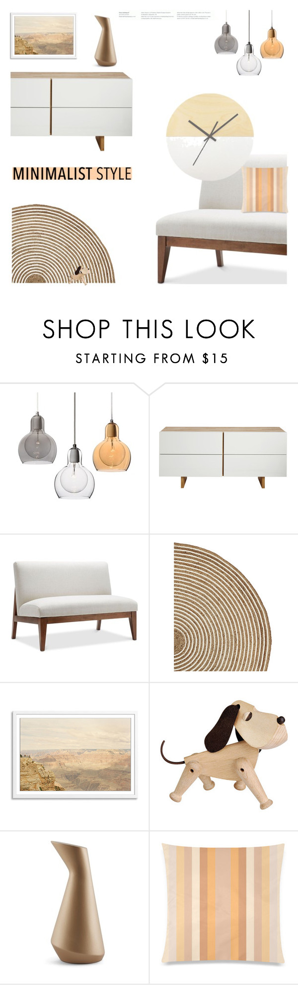 """Minimalist Makeover"" by slavicabojanovic ❤ liked on Polyvore featuring interior, interiors, interior design, home, home decor, interior decorating, MASH Studios, Serena & Lily, Incipit and Minimaliststyle"