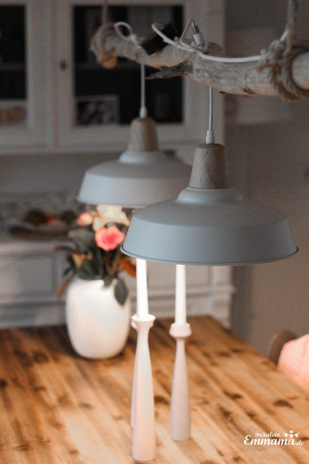 Diy Esszimmerlampe Im Scandi Stil Villa Emmama Lampen