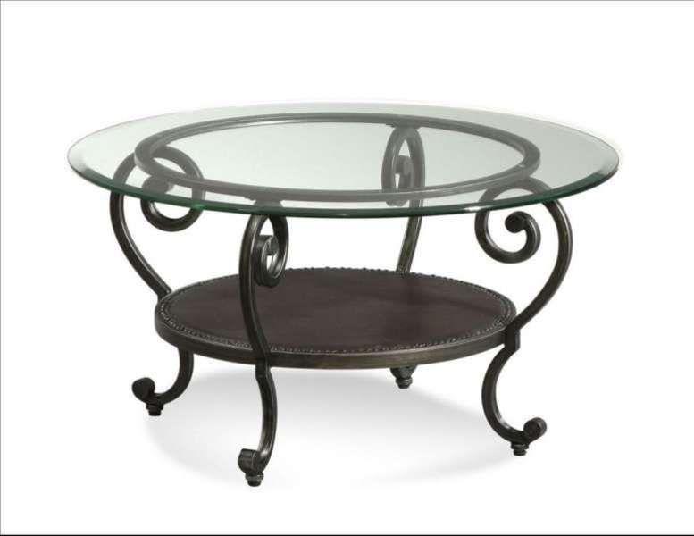 Classic Style Glass Coffee Table Ide Dekorasi Kamar