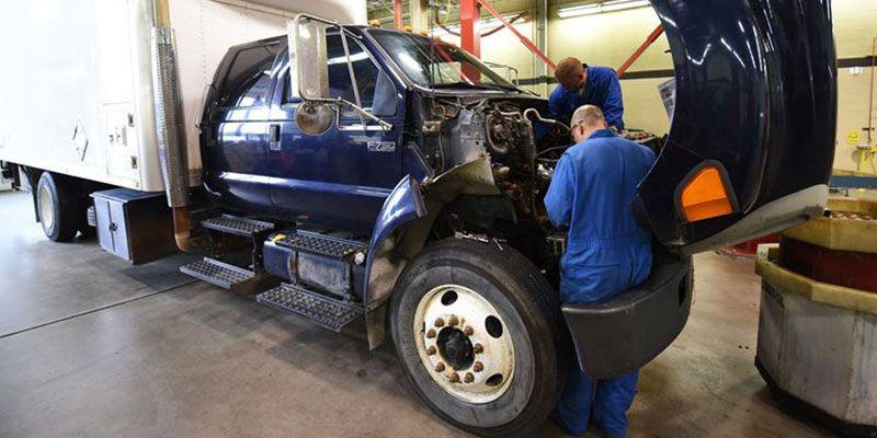 Truck Repair Truck repair, Trucks, Truck tyres