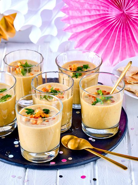 Photo of Chickpea Soup in a Glass Recipe DELICIOUS