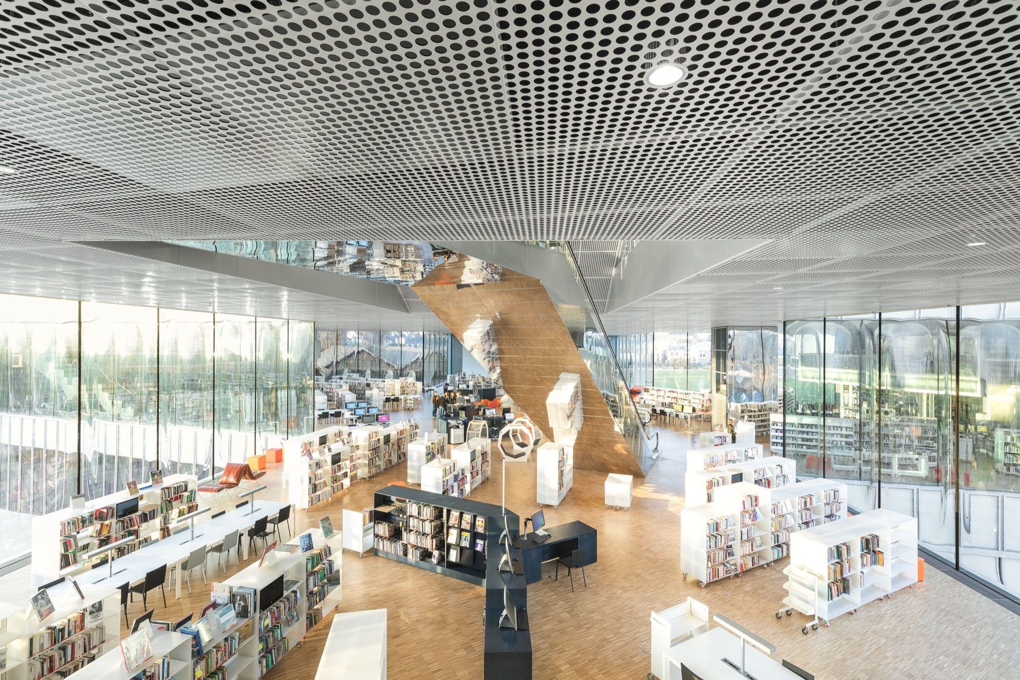 Cabinet D Architecte Caen gallery of bibliothèque alexis de tocqueville / oma +