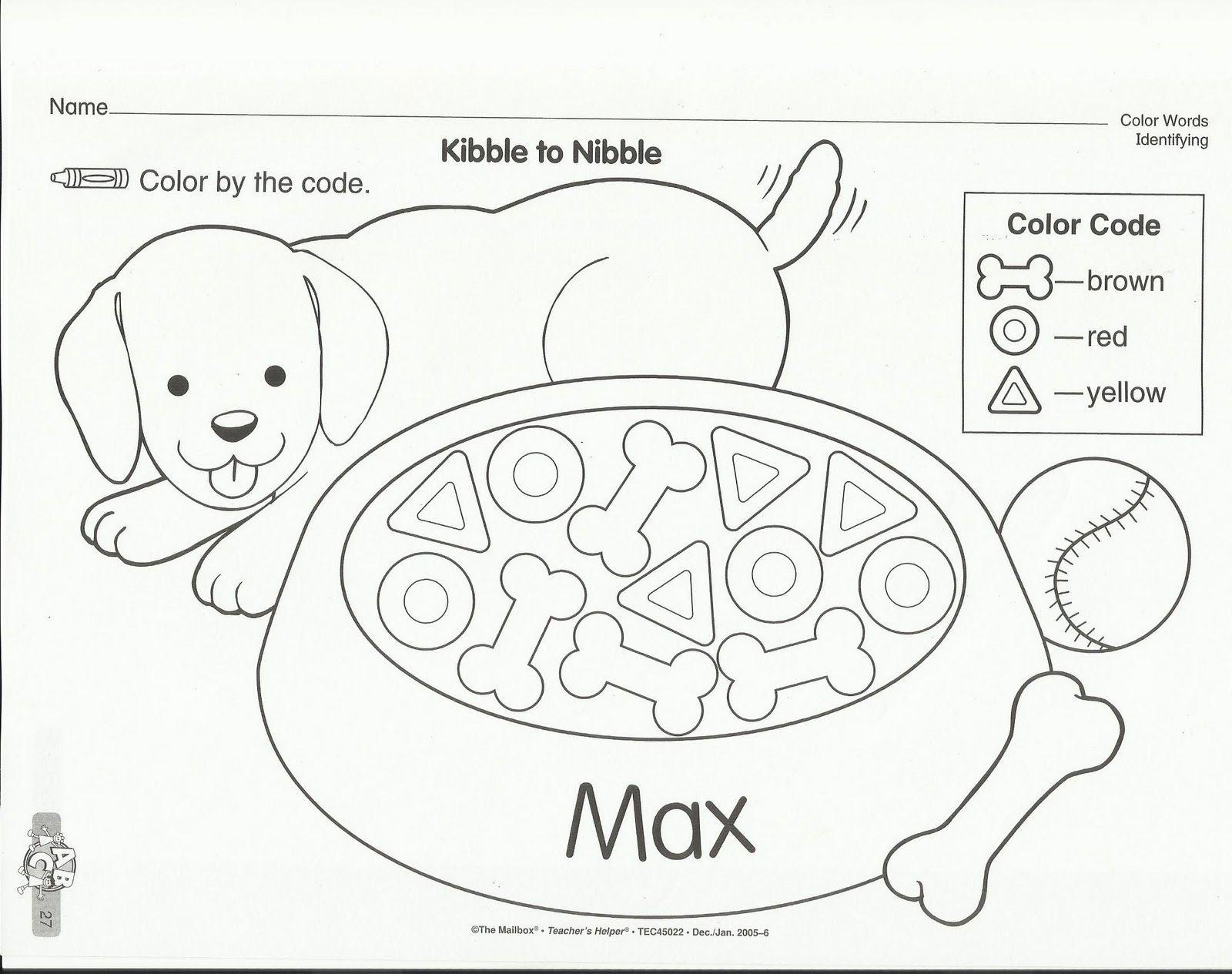 Dogcolordogdish Jpg 1 600 1 265 Pixels Pets Preschool Pets Preschool Theme Preschool Pet Week