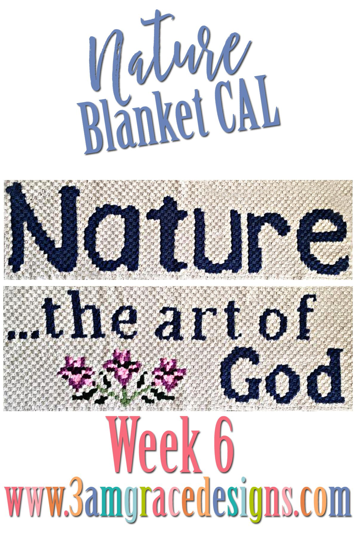 Nature Blanket C2C CAL - Week 6