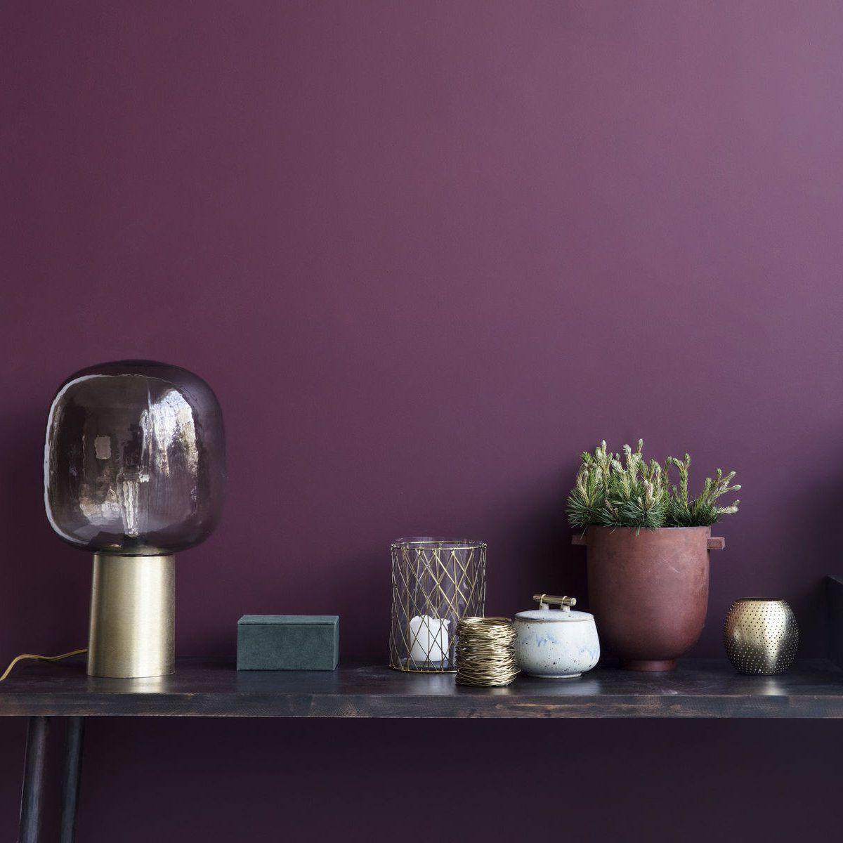 5 Couleurs Adopter Pour L Automne Murs Violets Couleur Tendance