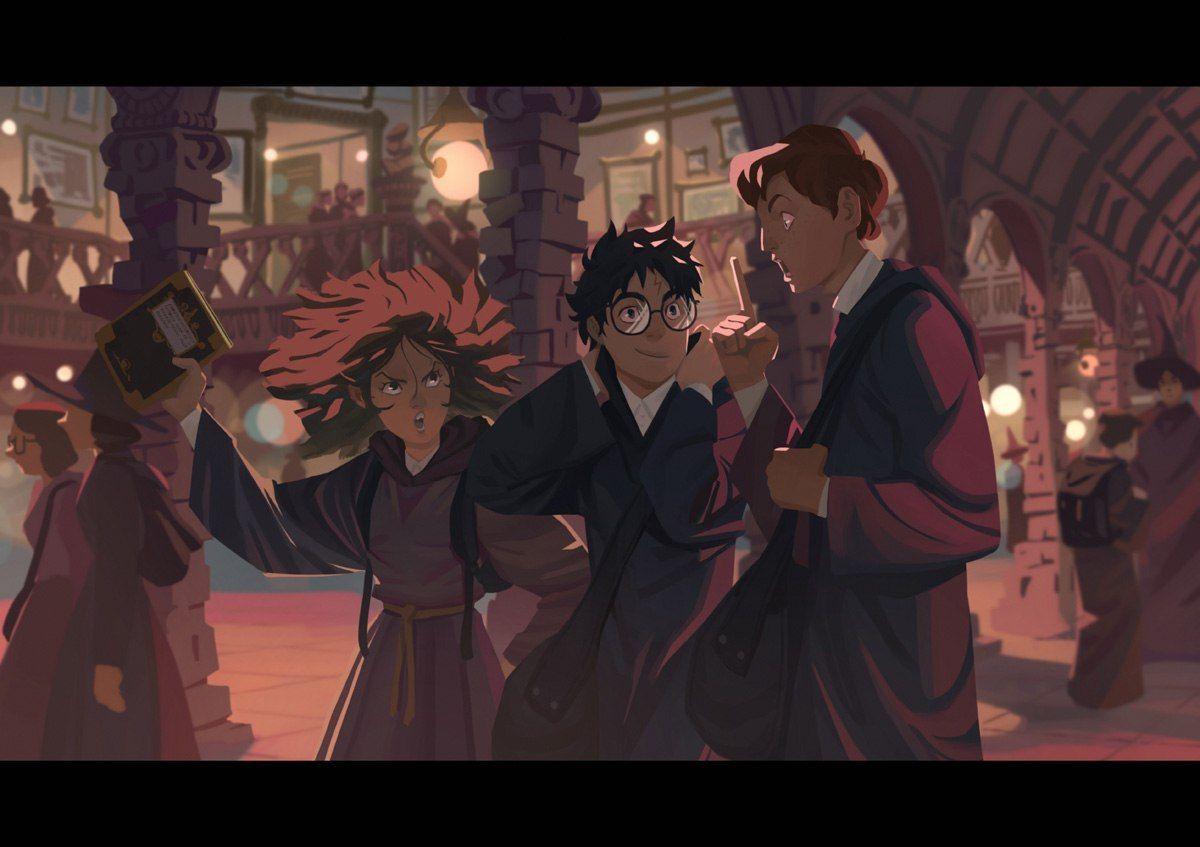 Harry, potter й Описание: комикс - читать