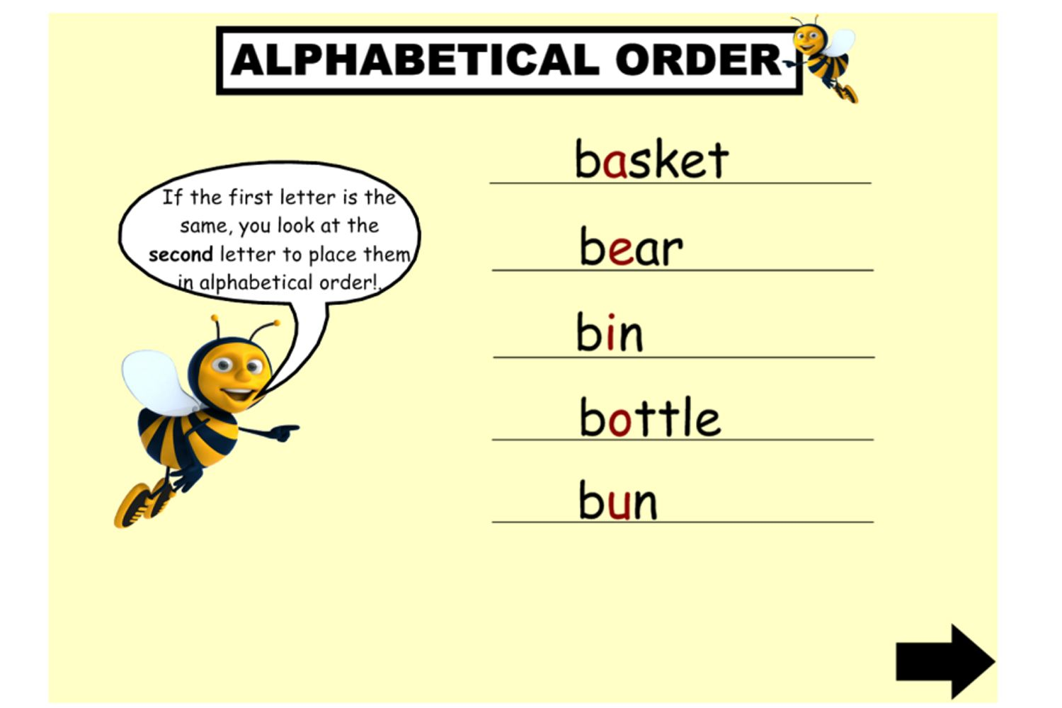 Explicitly Tech Your Students How To Arrange Words In