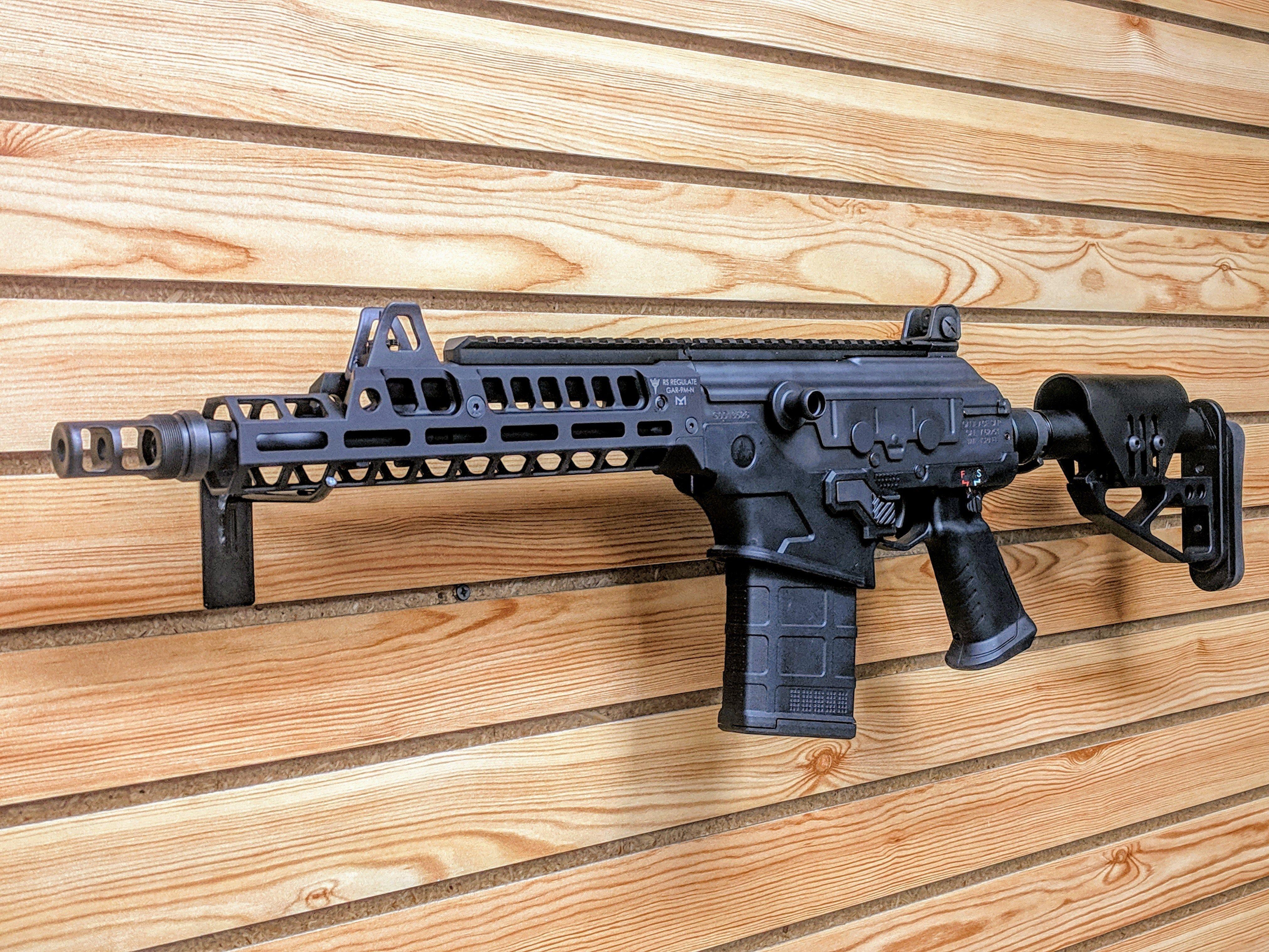 GAR-9M-N  308 GALIL ACE PISTOL MLOK RAIL - RS Regulate