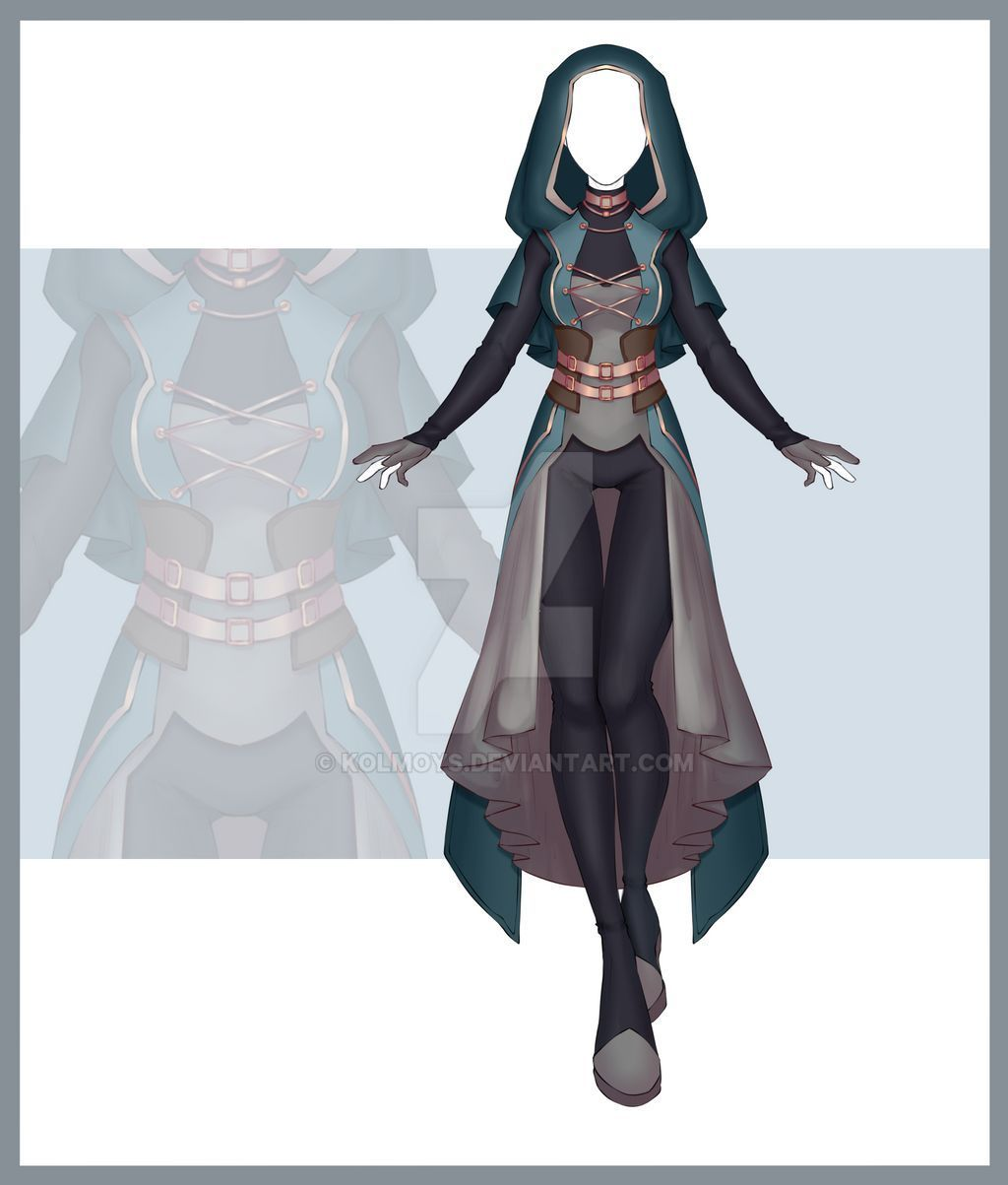 Photo of [Close] Adoptable Outfit Auction 294 by Kolmoys on DeviantArt