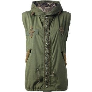 Mr & Mrs Furs Embellishment Gilet
