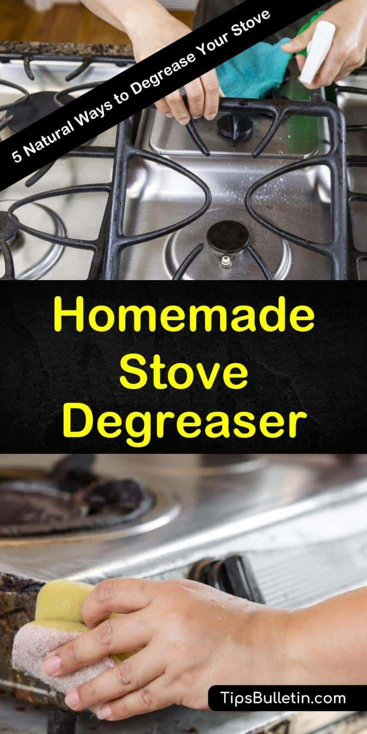 Discover how to make the best homemade stove degreaser in
