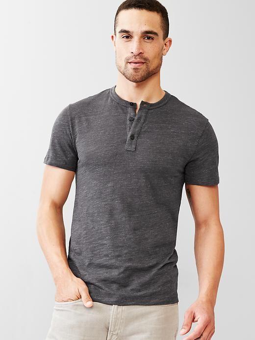 a2391afa Beach slub henley Product Image Polo T Shirts, Boyfriend, T Shirts, Polo  Shirts