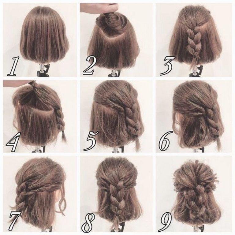 pettinature facili capelli corti