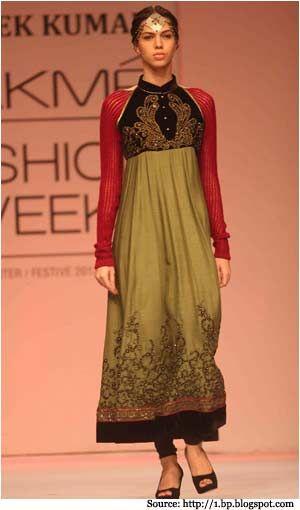 High Neck Dresses with Shalwar Kameez