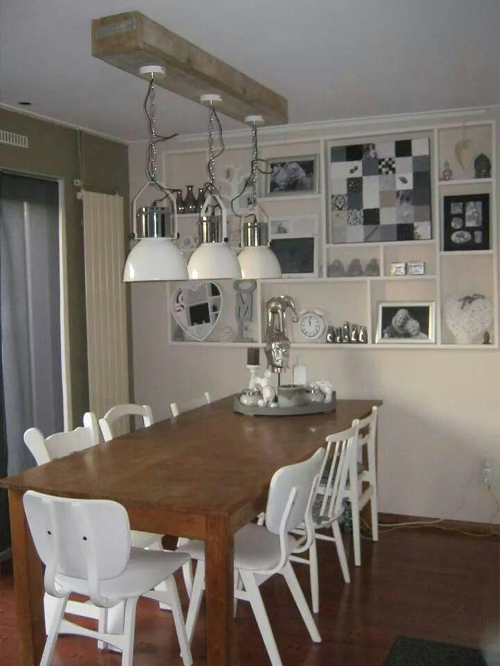 koof van steigerhout en lampen van de action steigerhout. Black Bedroom Furniture Sets. Home Design Ideas
