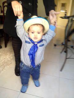 Diário do Felipinho: Minha primeira festa junina