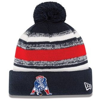9fa3c7bcabc Official New England Patriots ProShop - New Era Throwback 2014 On Field Knit  Hat