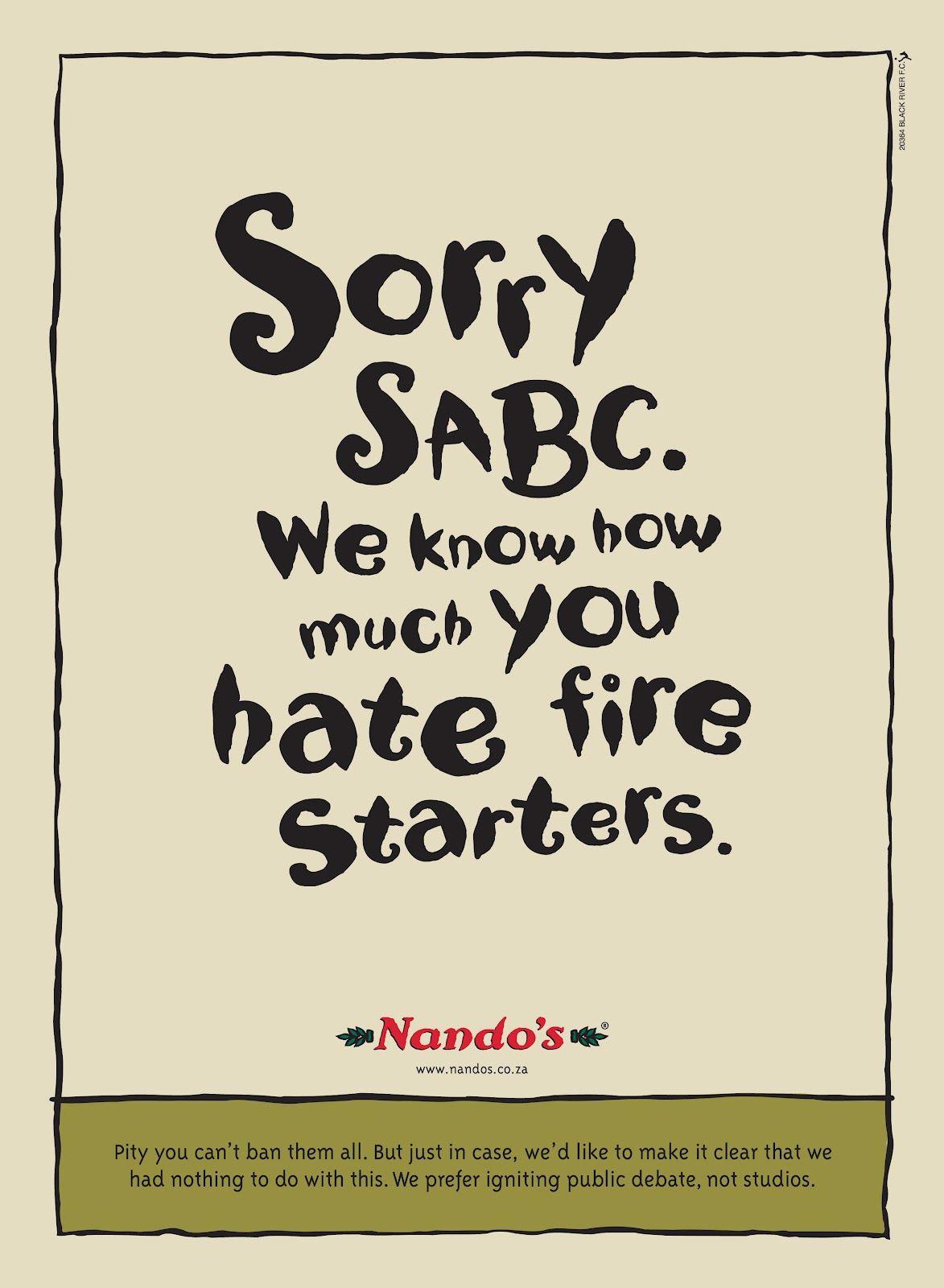 Pin on Nando's SA Ads