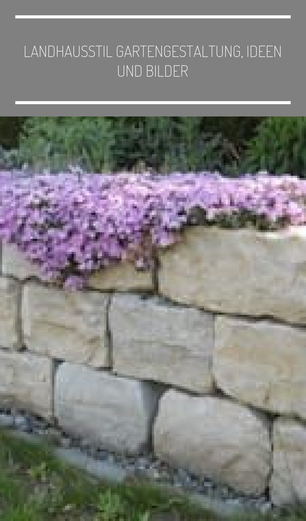 Landhausstil Gartengestaltung En 2020 Walle