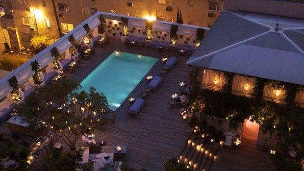 Where La Comes To Play Mondrian Hotels Mondrian Sunset Strip
