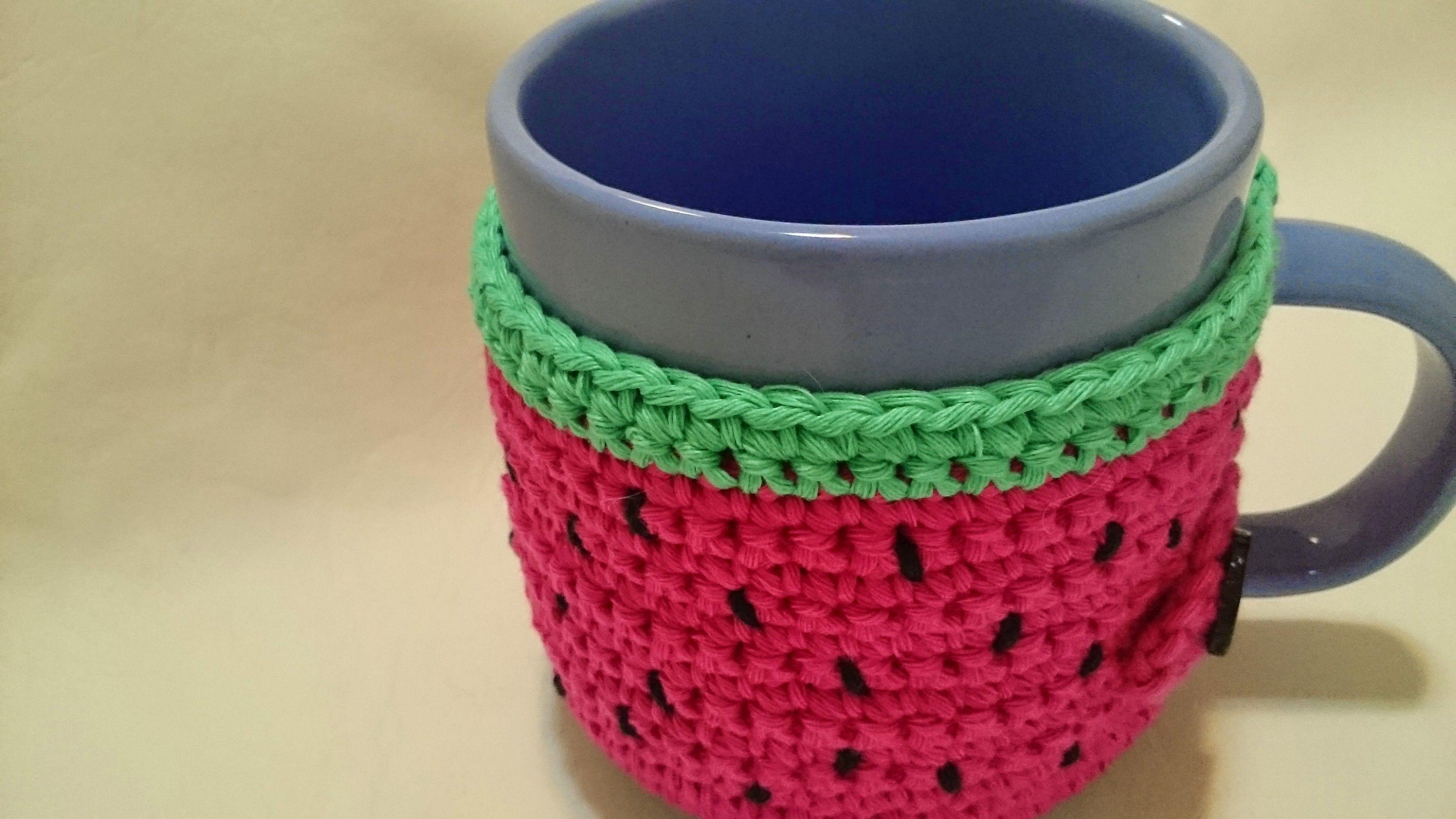 Image result for cubre tazas tejidas al crochet | Coffee cozies ...