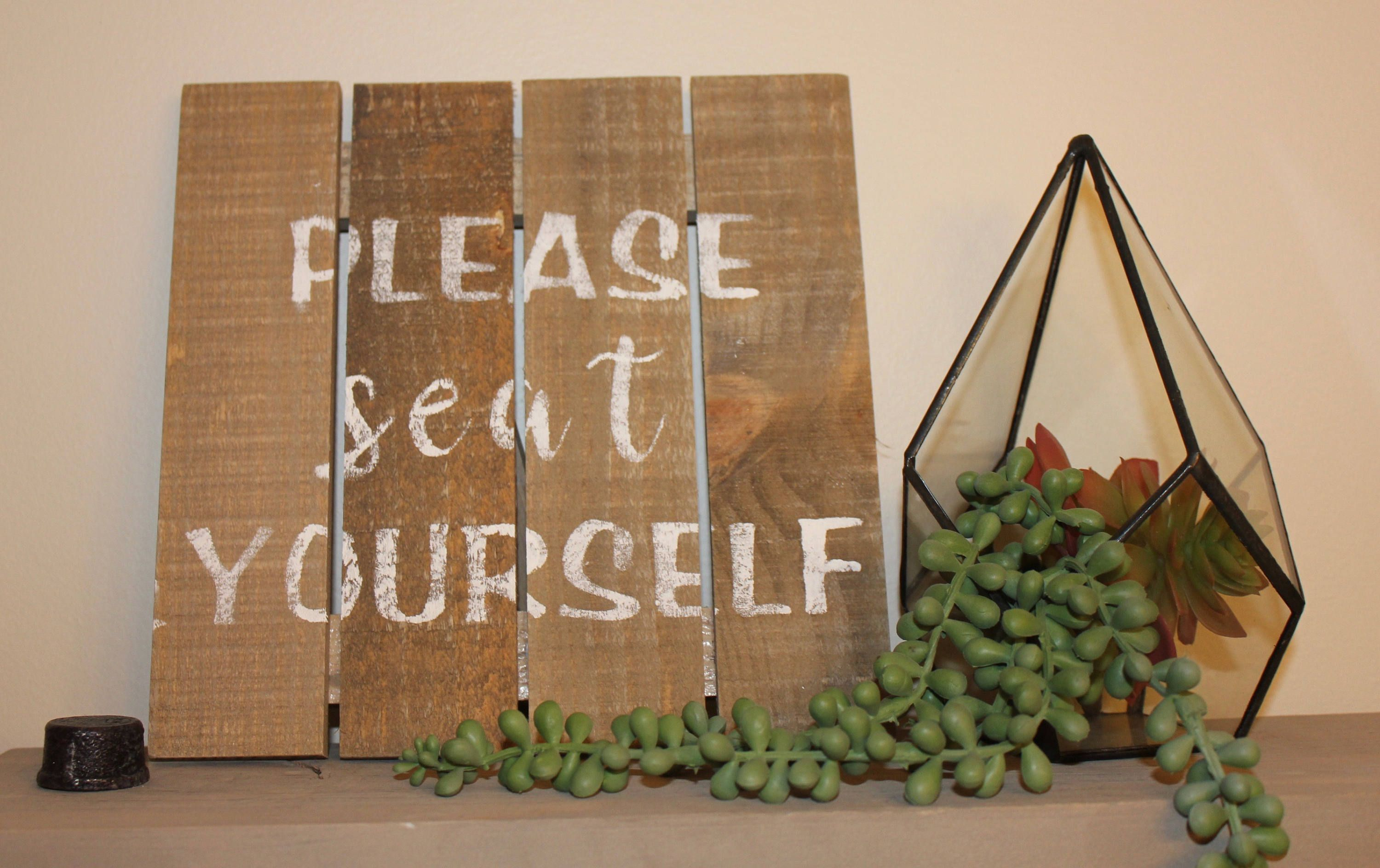Please seat yourself sign dining room sign wedding sign please seat yourself sign dining room sign wedding sign bathroom decor funny bathroom sign seat yourself sign wedding seating sign solutioingenieria Image collections