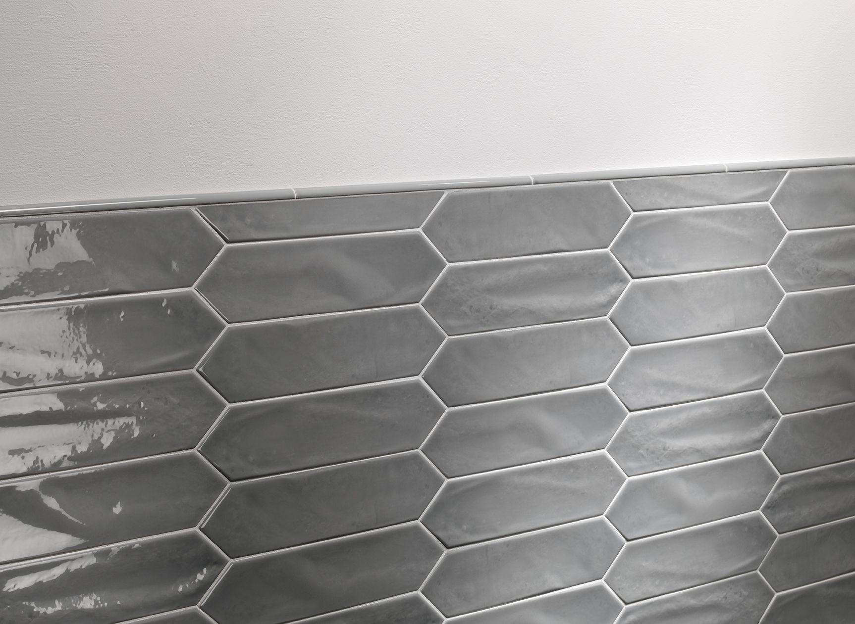 Crayons Smoke Gloss 7 5x30 Tiles Subway Tile Italian Tiles