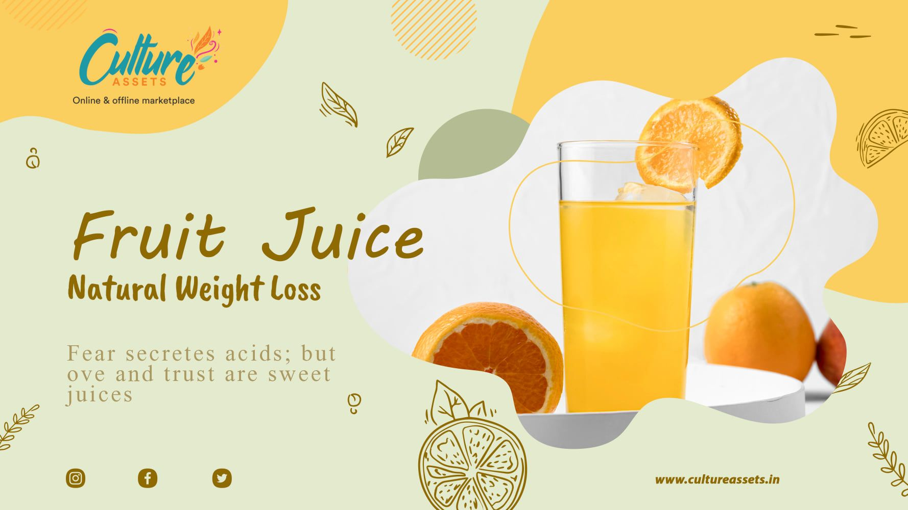 Buy juice online of best quality at Culture Assets. . . . . #juice #healthy #vape #healthylifestyle #food #vegan #healthyfood #juicewrld #detox #fruit #fresh #freshjuice #smoothie #juicing #health #love #organic #juicecleanse #fruits #foodie #drink #coldpressedjuice #coffee #plantbased #healthyjuice #vaping #orange #eliquid
