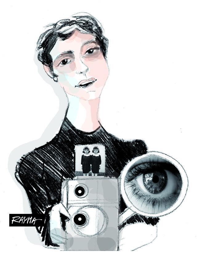 Diane Arbus; por Rayma