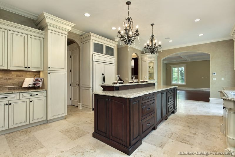 Best Houzz Kitchen Two Tone Cabinets Of Kitchens 400 x 300