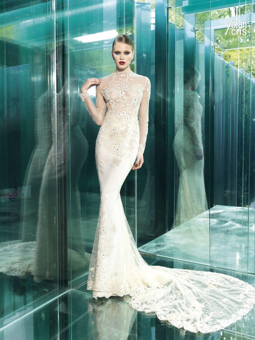 Yolan Cris Wedding Dresses 2015   Dress images
