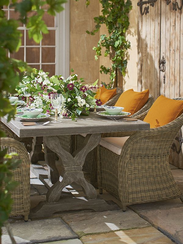 Bring The Tropics To Your Outdoor Dining Table. Add A Selection Of OKA  Accessories   Exotic Candles, Some Decadent Leafy Tableware And A Sumptuous  Array Of ...