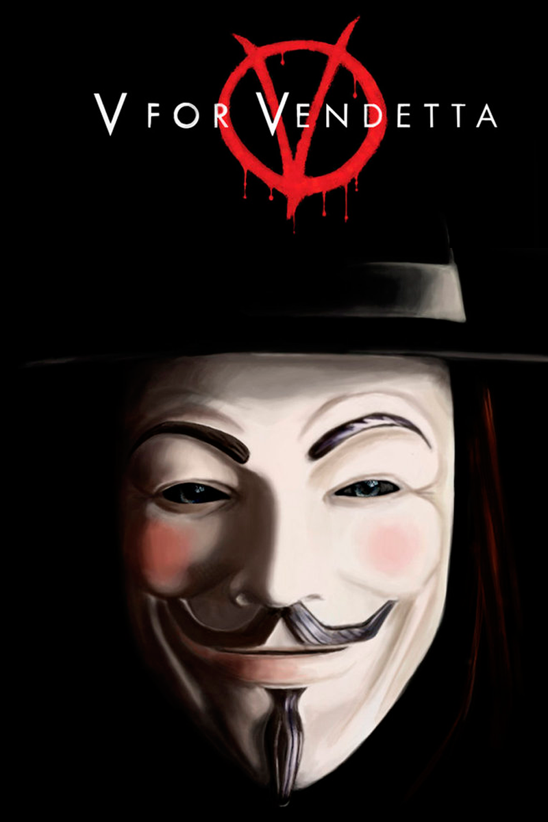 The V For Vendetta Logo Is One Of The Most Famous Symbols Of Anger And Revenge The Red Color Helps To Make It Ev V For Vendetta Movie V For Vendetta