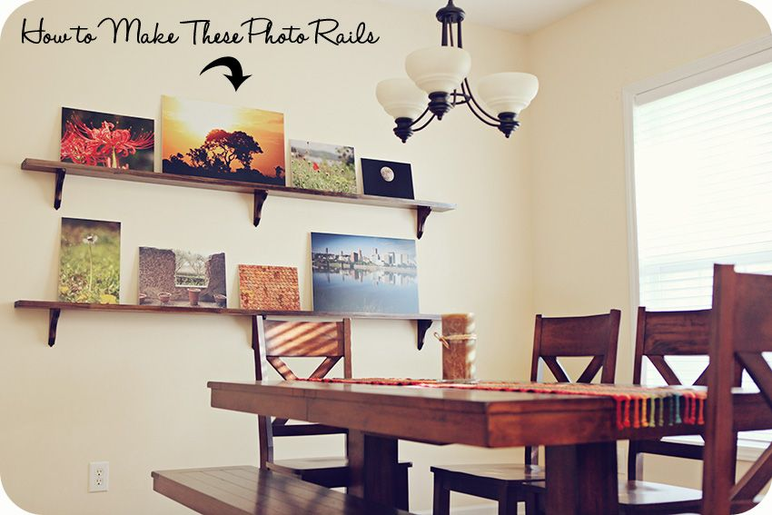 Diy Photo Rails Photography Display Ideas Displaying Photos Beauteous Picture Frames For Dining Room Inspiration Design