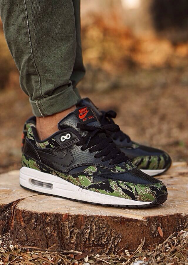 Atmos x Nike Air Max 1 'Tiger CamoSnake' (by msgt16 | Pies