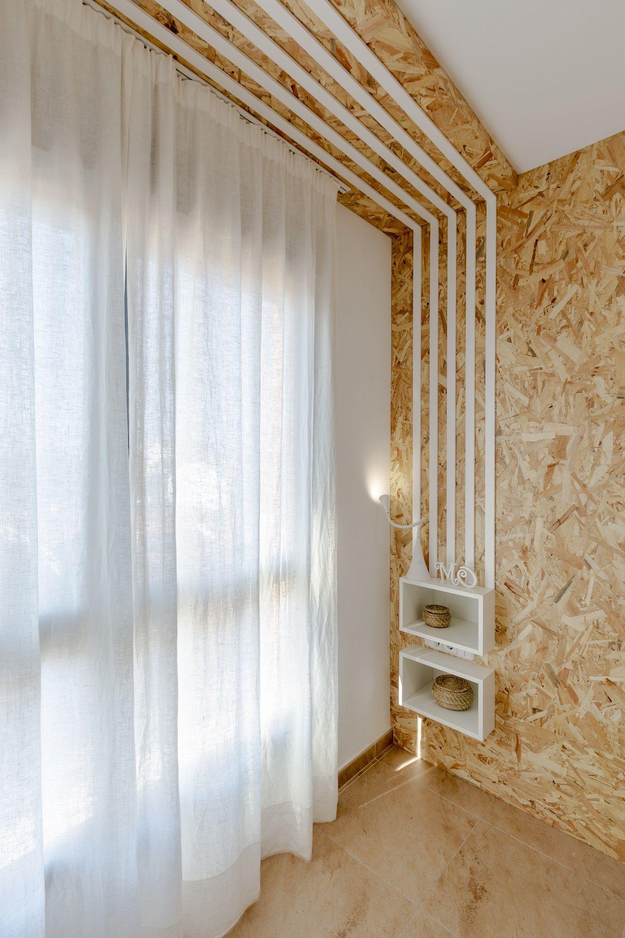 Diseño cabecero con tablero #OSB de Mari Carmen Ortuño premio