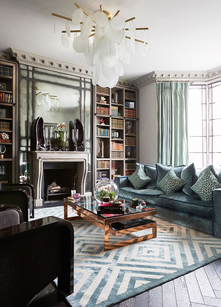 Olivia Palermo Apartment Decor Trilbey Gordon Interiors Luxe Living Rooms Home Decor Luxury