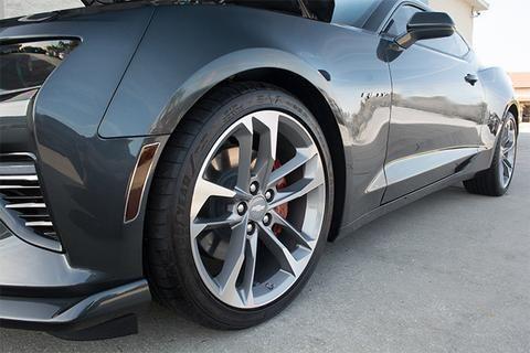 2016 2017 Chevy Camaro Side Marker Blackout Kit 8pc Blackout Film W Stainless Trim Rings 2017 Chevy Camaro Chevy Camaro Custom Camaro
