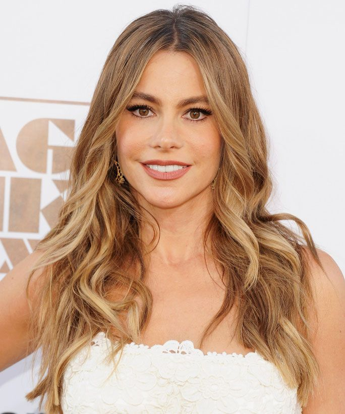 Get Gloria From Modern Family S Carnitas Al Diablo Recipe Instyle In 2020 Sofia Vergara Hair Color Sofia Vergara Blonde Sofia Vergara Hair